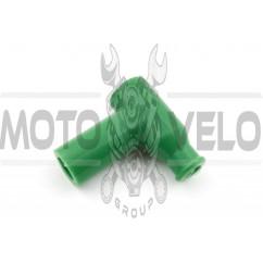 Насвечник (тюнинг) 90*, Т- образный (зеленый) NJK