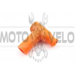 Насвечник (тюнинг) 90*, Т- образный (оранжевый) NJK