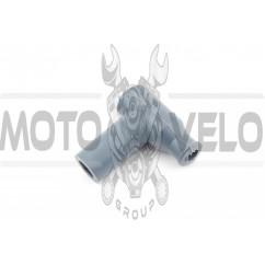 Насвечник (тюнинг) 90*, Т- образный (серый) NJK