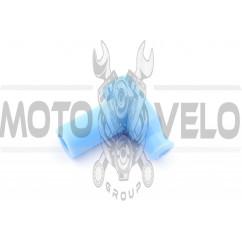 Насвечник (тюнинг) 90*, Т- образный (голубой) NJK