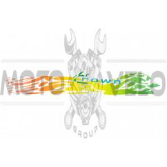 Наклейка декор CROWN (35х5см) (#7013)