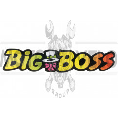Наклейка декор BIG BOSS (21x6см) (#3275)