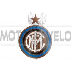 Наклейка логотип INTER (16x13см) (#5651)