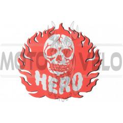 Наклейка декор HERO (14x14см) (#0308)