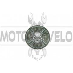 Наклейка декор SKULL (9х9см) (#3406)