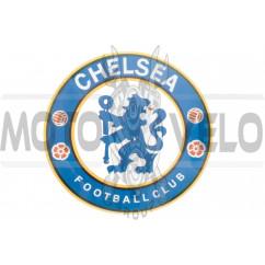 Наклейка логотип CHELSEA (16х16см) (#5520)