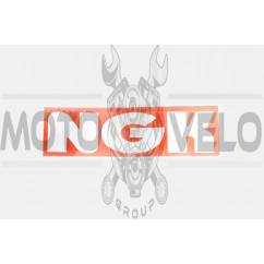Наклейка логотип NG (18х6см) (#6874)