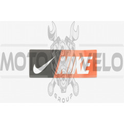 Наклейка логотип NIKE (9х4см) (#0544)