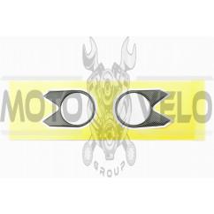 Наклейка декор на траверсу CARBON (9х6см) (5269)