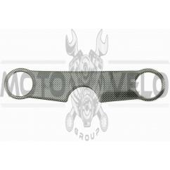 Наклейка декор на траверсу CARBON (26х5см) (5288)