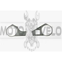 Наклейка декор на траверсу CARBON (10х6см) (5284)