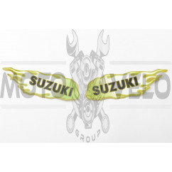 Наклейки (набор) Suzuki FLAME (12х4см) (0332A)