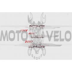 Наклейки (набор) Yamaha JOG (36х6см, 3шт) (#4450)