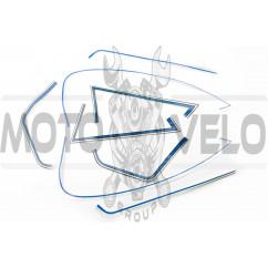 Наклейки (набор) полосы универсальные (40х20см) (#6028)