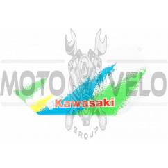 Наклейка логотип KAWASAKI (28х15см) (#2322)