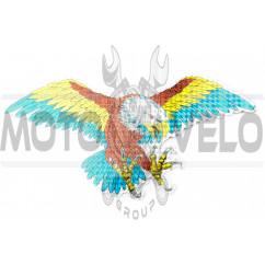 Наклейка декор EAGLE (30х15см) (#0059)