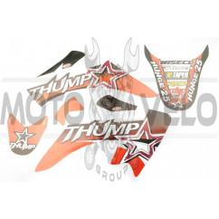 Наклейки (набор) Triumph (50х25см, 4 шт) (#0063)