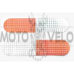 Наклейка полоса светоотражающая (22х4см) (#6048B)