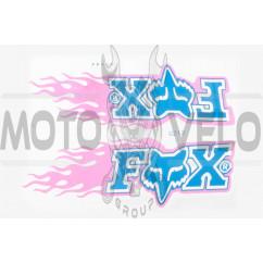Наклейки (набор) FOX (21х16см) (#0212)