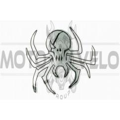 Наклейка декор SPIDER (26х26см) (#6883B)