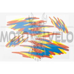 Наклейки (набор) FLAME (32х23см) (#0058)