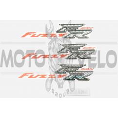 Наклейки (набор) Yamaha FUZZY (30х7см, 4шт) (#7461)