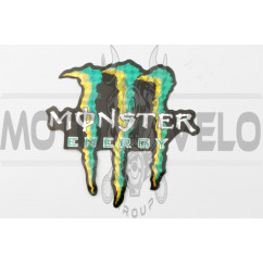 Наклейка логотип MONSTER ENERGY (13х12см) (#7312C)