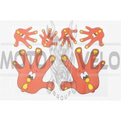 Наклейки (набор) HAND (25х18см) (#0202)