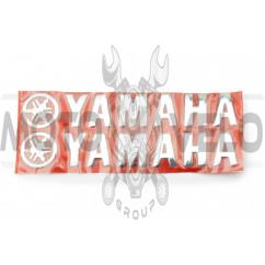 Наклейка буквы YAMAHA (20х6см, 2шт, хром) (#4751)