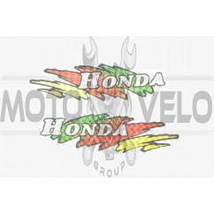 Наклейки (набор) Honda (14х4см) (#5833)