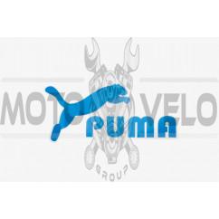 Наклейки (набор) PUMA (16х8см, синие) (#5890B)