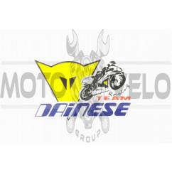 Наклейка логотип DAINESE (14х10см) (#0241)