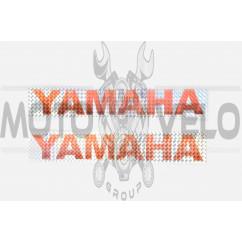 Наклейки (набор) YAMAHA (30х5см, красные) (#6998C)
