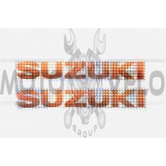 Наклейки (набор) SUZUKI (30х5см, красные) (#7000C)
