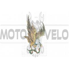 Наклейка декор EAGLE (18х11см) (#0573)