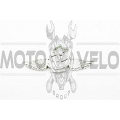 Наклейка шильдик TOYOTA (хром) (#4989)
