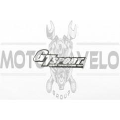 Наклейка шильдик GT WING (хром) (#4544)