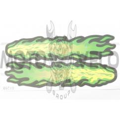 Наклейки (набор) FLAME (28х13см) (#0125B)
