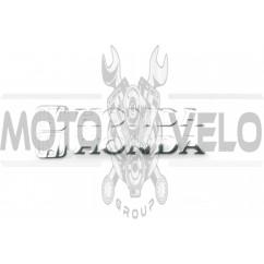 Наклейка буквы (mod:Honda 15х6см, 2шт, хром) (#4754D)