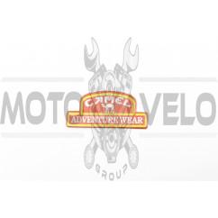 Наклейка шильдик CAMEL (11х5, красная) (#4615)