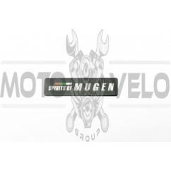 Наклейка шильдик MUGEN (14х4см, хром) (#4640)