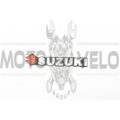Наклейка шильдик SZK (15х2см, хром) (#4590)