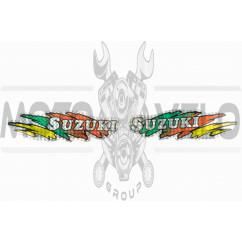 Наклейки (набор) SUZUKI (20х5см) (#5834A)