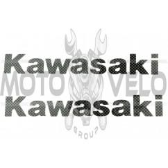 Наклейка буквы KAWASAKI (23х4см) (#HQ111)