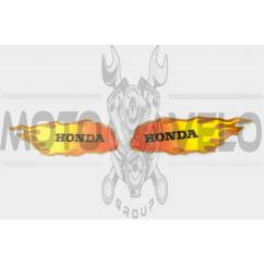 Наклейки (набор) Honda (20x5см) (#0332B)