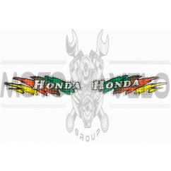 Наклейки (набор) Honda (20x6см) (#5833B)