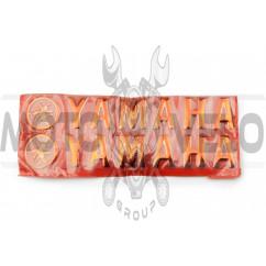Наклейка буквы YAMAHA (20х6см, 2шт, красные) (#4751)
