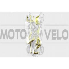 Наклейки (набор) NEPTUN (16х6см, желтые) (#4730)