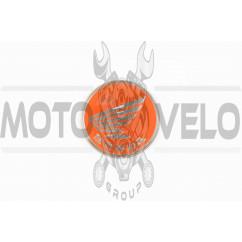 Наклейка шильдик Honda (6х6см, красная) (#4705)