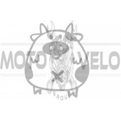 Наклейка декор PIG (хром) (#HQ5)